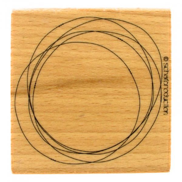 Motivstempel - Label KreiseKreiseKreise