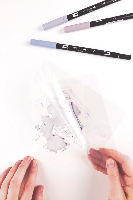 Bild 6-Folie vom Papier ziehen und Effekt bearbeiten