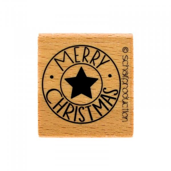 Motivstempel - Merry Christmas