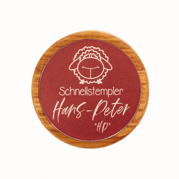 """Schnellstempler Hans-Peter """"HP"""""""