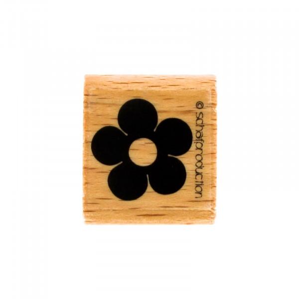 Motivstempel - Blume einfach